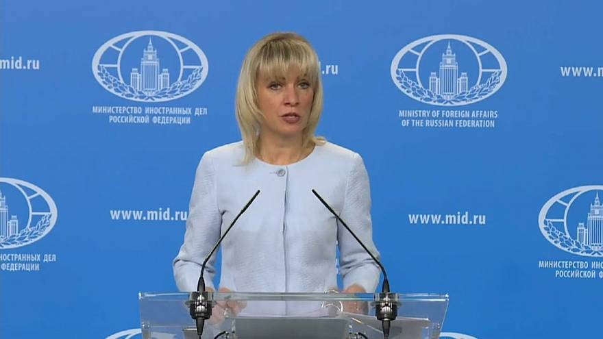 ماريا زخاروفا المتحدثة باسم وزارة الخارجية الروسية