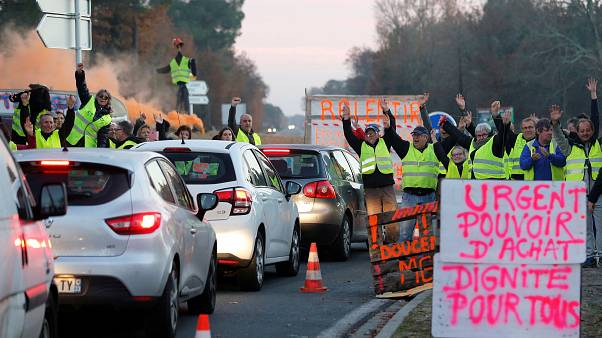 """French government to drop fuel tax rise that sparked """"Yellow Vest"""" protests"""