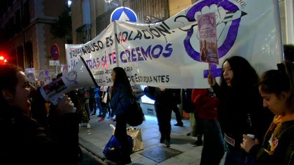 """Manifestaciones contra la sentencia a """"La manada"""""""