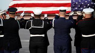 Abschied von US-Altpräsident Bush († 94)
