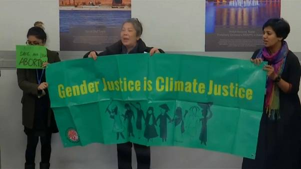 Les femmes se font entendre à la COP24