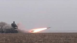 Raketentests in der Ukraine