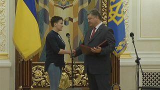 Савченко объявила сухую голодовку