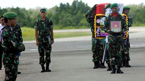 جداییطلبان در اندونزی ۱۹ کارگر ساختمانی و یک سرباز را کشتند