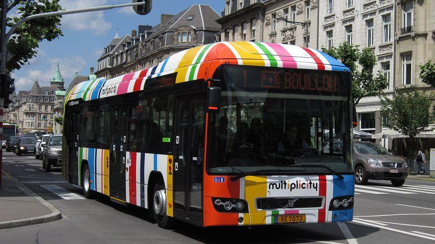 Lüksemburg'da toplu taşıma bedava oluyor