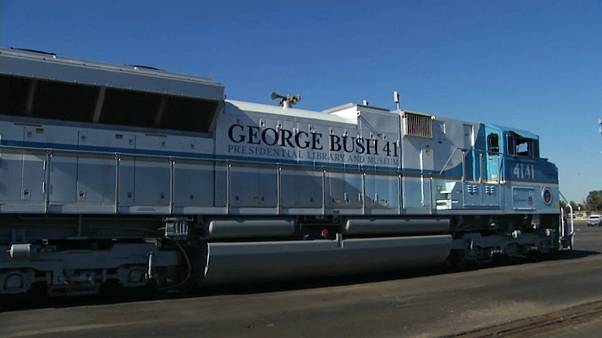 George Bush: Letzte Reise per Sonderzug
