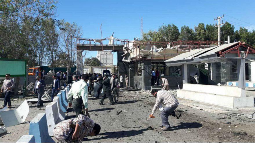 حمله انتحاری مرگبار به ستاد نیروی انتظامی در چابهار