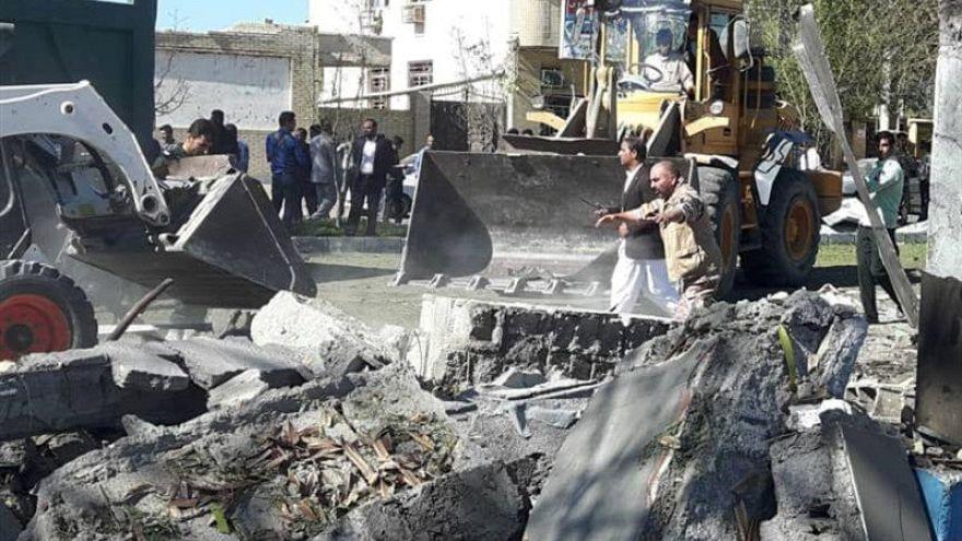 Autobombe im Iran vor Polizeipräsidium explodiert