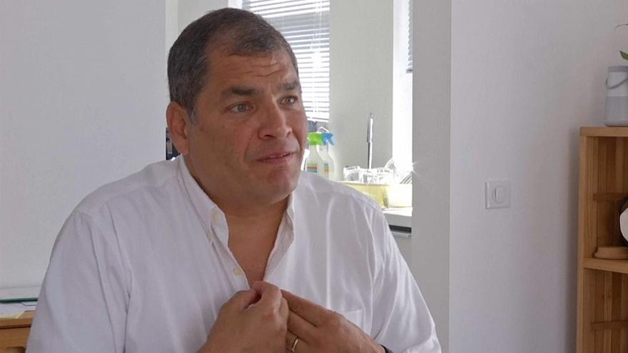 Interpol no arrestará a Rafael Correa