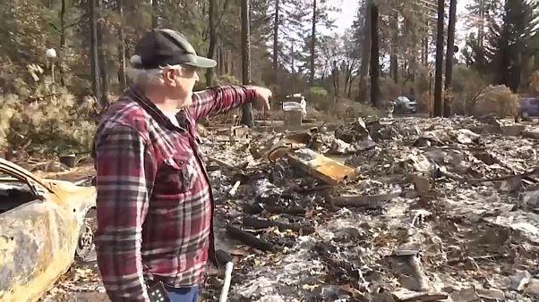 Bajo las cenizas el dolor por los incendios de California