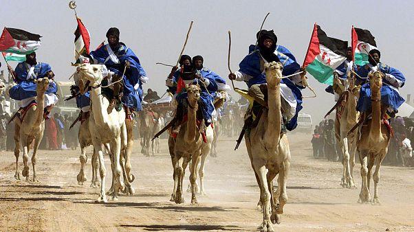 Celebraciones del 25º aniversario del Frente Polisario en Tinduf (Argelia)