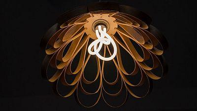'The world's first designer low-energy light bulb'