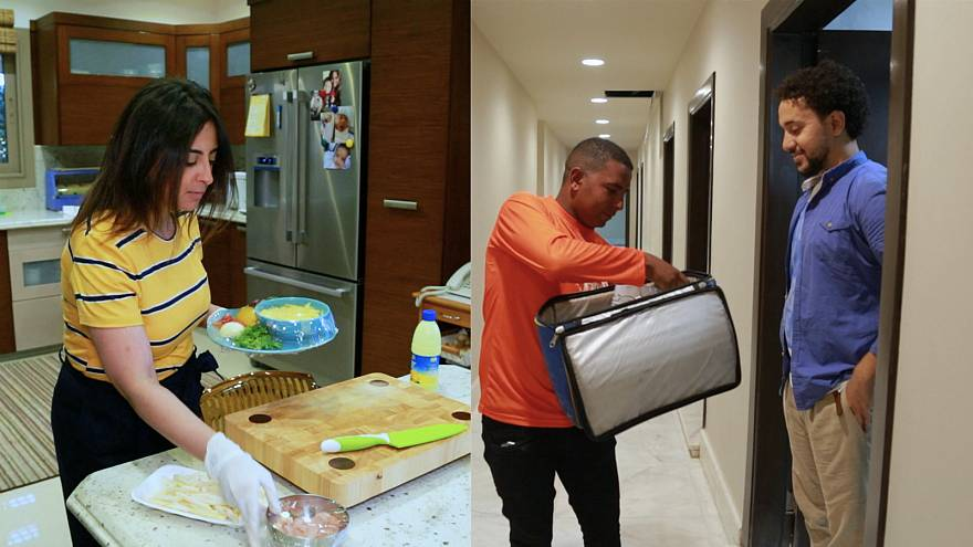 Egyptian start-up delivers 'Mum's-style' food to Cairo's commuters