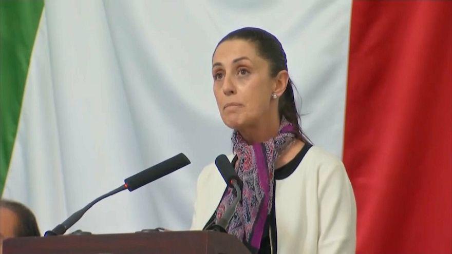 Claudia Sheinbaum prend les rênes de Mexico