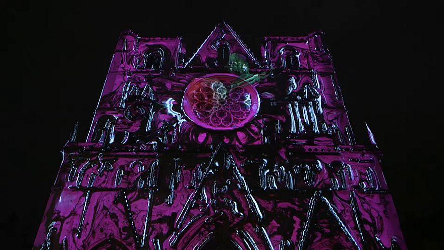 Onírico festival de las luces de Lyon
