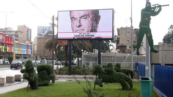 """""""Nous sommes tous Carlos Ghosn"""", campagne de soutien au Liban du patron de Renault"""