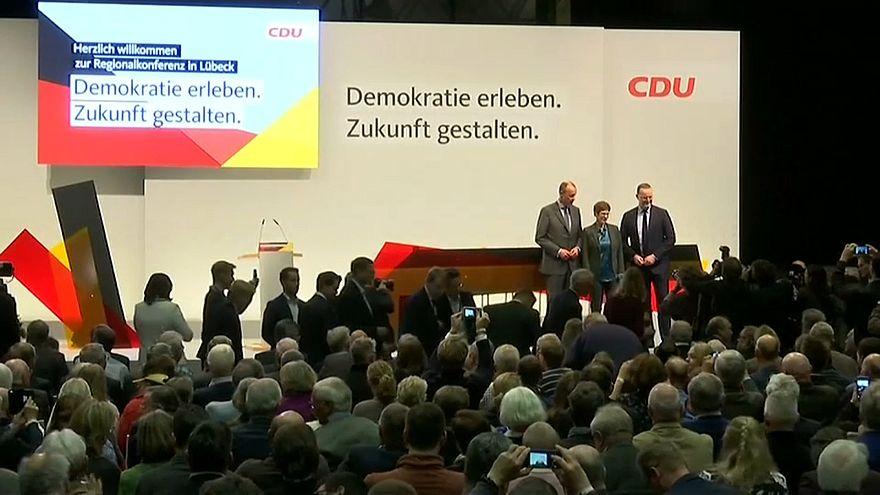 CDU: Wer tritt in Merkels Fußstapfen?