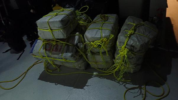 Bundles of cocaine seized in Saint Martin on Dec 3, 2018