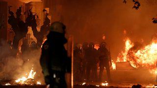 Des heurts en marge d'un hommage à Athènes