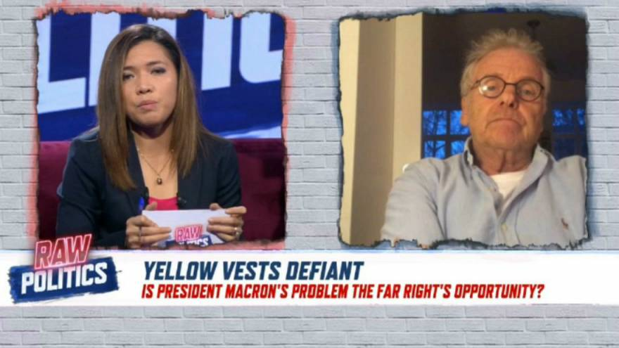 Raw Politics: Can Macron survive the 'Yellow Vest' movement?