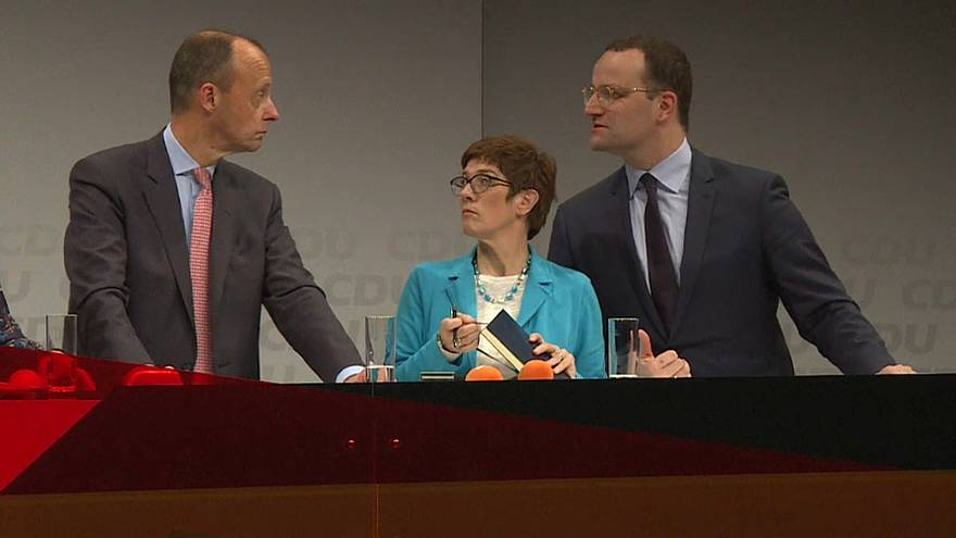 CDU : trois candidats, un seul élu pour succéder à Angela Merkel