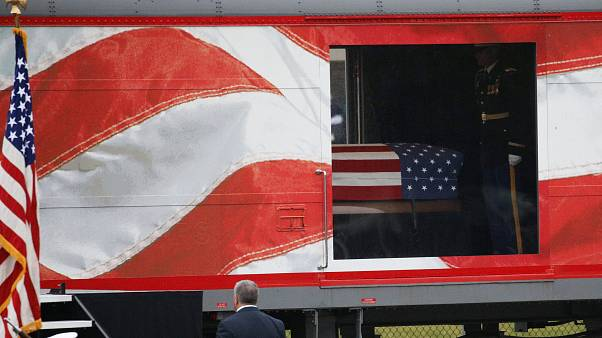 ΗΠΑ¨:  Στην τελευταία του κατοικία ο Τζορτζ Χ. Ουόκερ Μπους