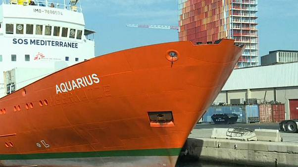 توقف امدادرسانی کشتی آکواریوس به پناهجویان در دریای مدیترانه