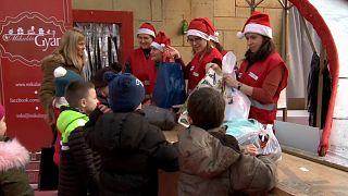 Santa Claus Factory in Budapest - Geschenke für bedürftige KInder