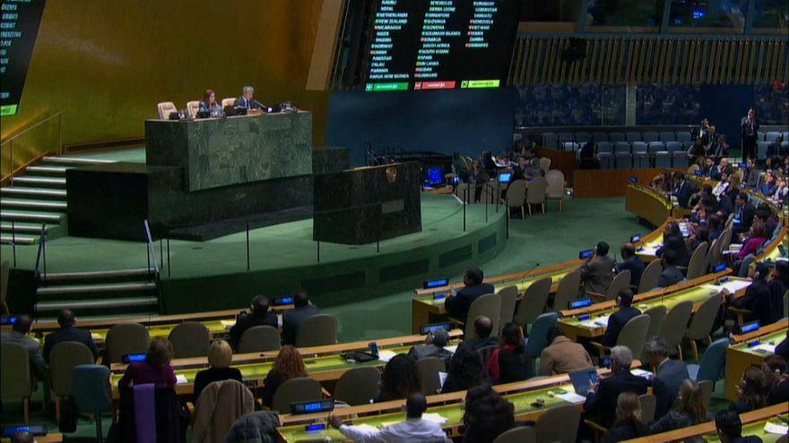 Birleşmiş Milletler Genel Kurulu, ABD'nin Hamas tasarısını reddetti
