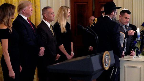 """في عيد الأنوار اليهودي: """"ترامب أعظم صديق لليهود في البيت الأبيض"""""""