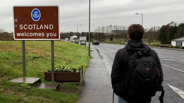 Uncertainty over Brexit creates unease on the Scottish border