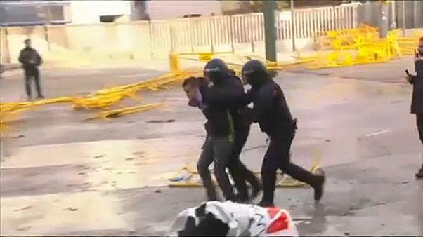 Crisis en el Gobierno de Torra por la actuación de la policía autonómica