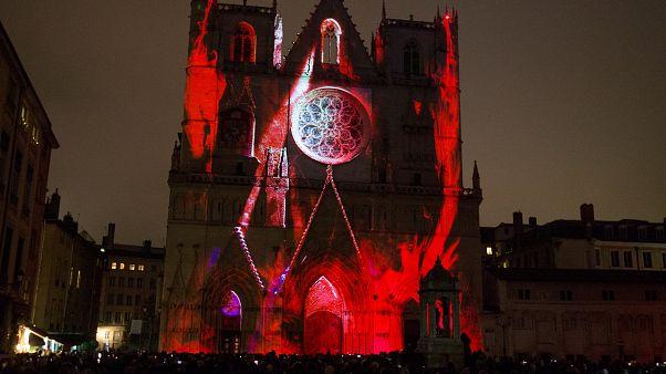 Empresa portuguesa ilumina Catedral de Lyon