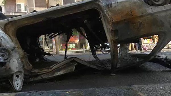 Εξάρχεια: Οι υπηρεσίες καθαρισμού απομάκρυναν 30 τόνους μπάζα μετά τα επεισόδια