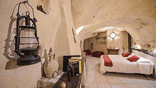 Back to Stonehenge: Italy's luxury cave fad