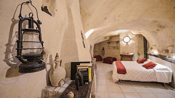 Back to Stonehenge: Italy's luxury cave fad