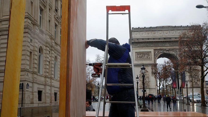 """Paris prepara-se para novos protestos dos """"coletes amarelos"""""""