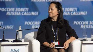 المديرة المالية لشركة هواوي منغ وان تشو