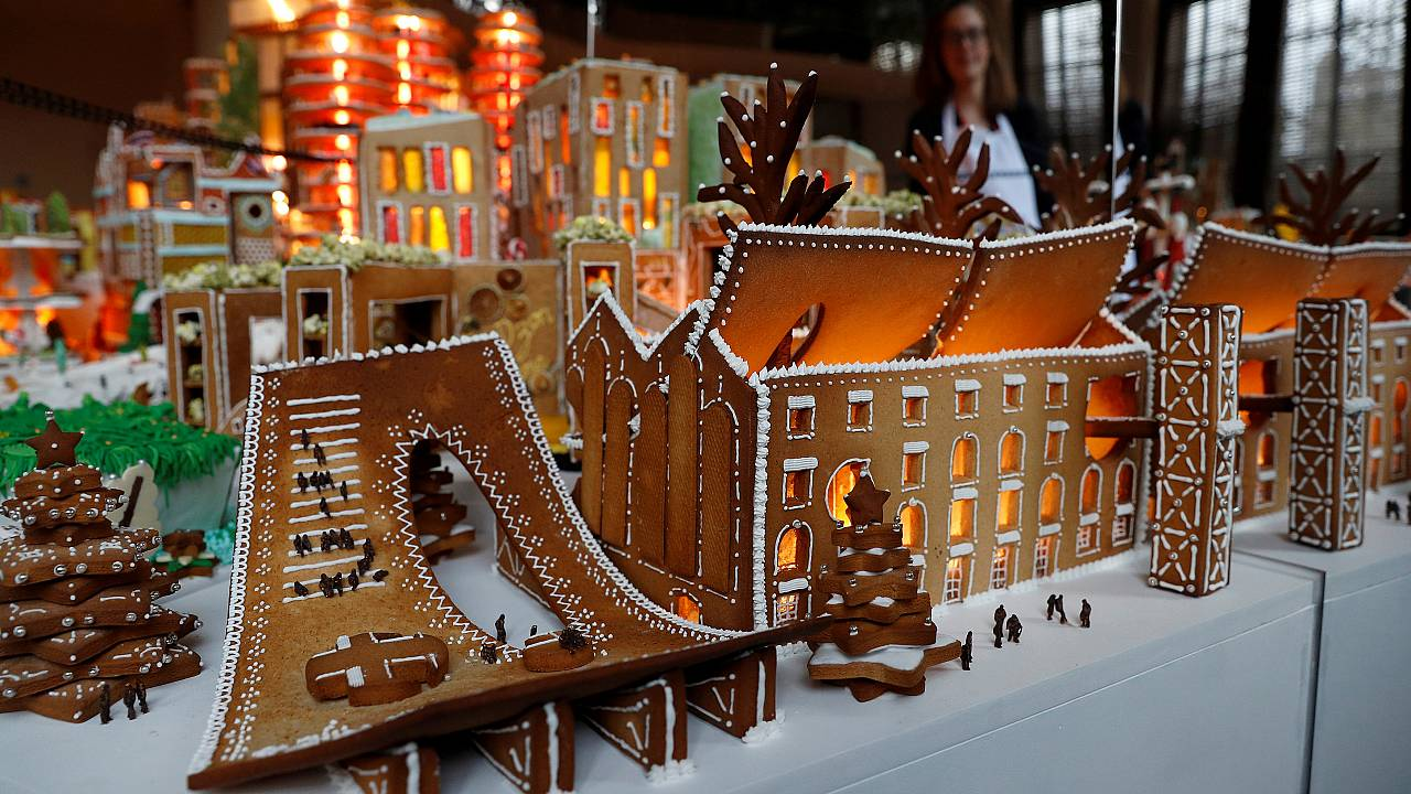 Gingerbread City opens its gates to take a look at the future