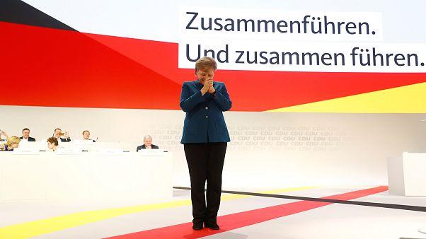 Angela Merkel se despide de su partido