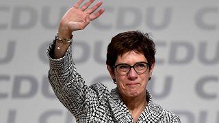 Annegret Kramp-Karrenbauer elected as leader of CDU