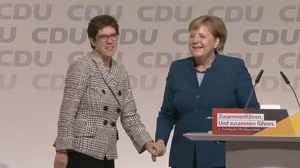 Annegret Kramp-Karrenbauer, nueva líder de la CDU