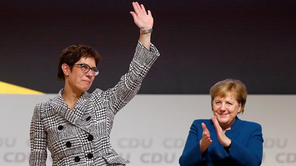 Annegret Kramp-Karrenbauer a CDU új elnöke