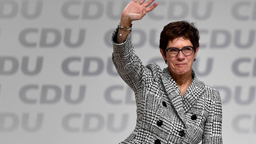 Новым председателем ХДС избрана Аннегрет Крамп-Карренбауэр
