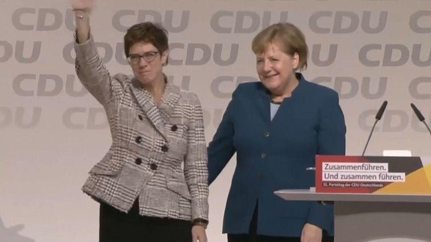 Kramp-Karrenbauer neue CDU-Chefin