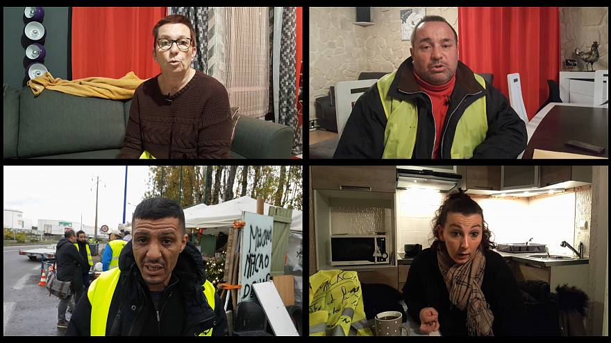 Gilets jaunes: What's driving the anger?