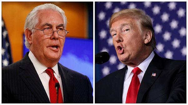 ترامپ وزیر خارجه سابق خود را نواخت: تیلرسون «کودن» و «تنبل» بود