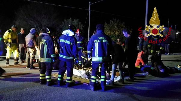 Italy: Six dead and dozens injured in nightclub stampede