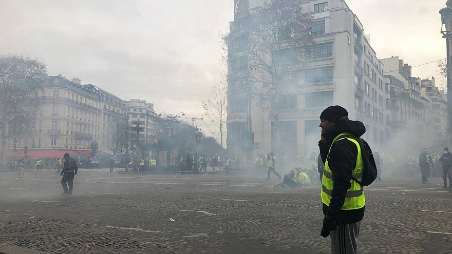 Euronews takes you to Gilet Jaunes Parisian protests