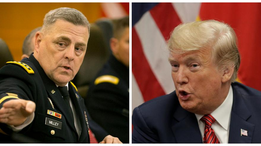 ترامب يعين الجنرال ميلي رئيسا لهيئة الأركان المشتركة وكيلي يترك منصبه نهاية العام